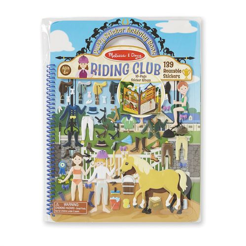 RIDING CLUB PUFFY STICKER BOOK