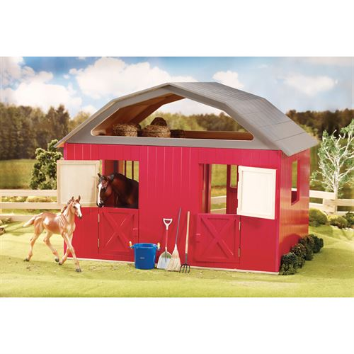DELUXE TWO STALL WOOD BARN