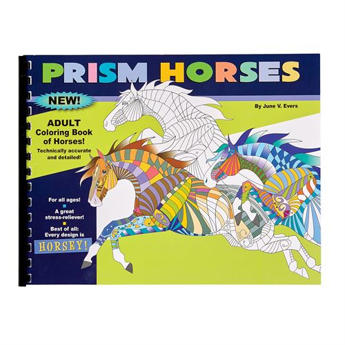 PRISM HORSES COLORING BOOK
