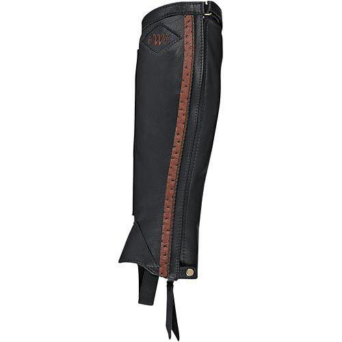 Dovers Custom Half Chaps in Black