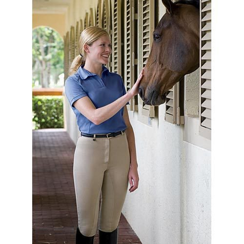 On Course Cotton Naturals? Full Seat Riding Breeches
