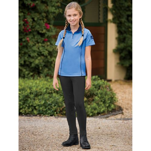 Childrens Riding Sport Pull-On Breeches