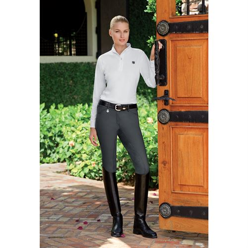 Pikeur® Cindy Low-Rise Full-Seat Riding Breeches