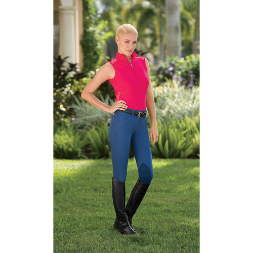 Custom Riding Apparel Ladies Comfort Ride Front Zip Breeches