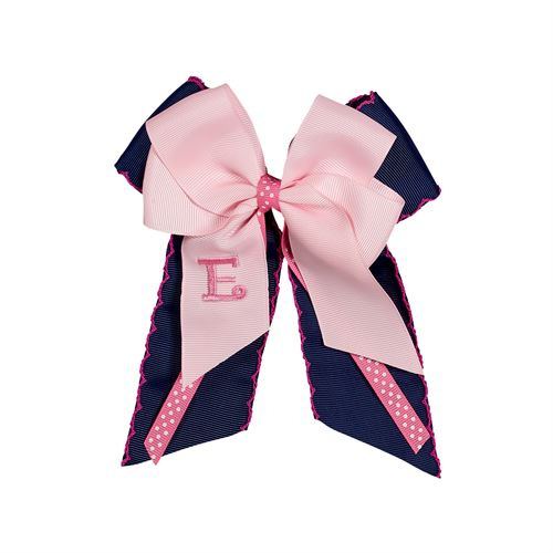 ELLIES BOWS MONOGRAM BOW