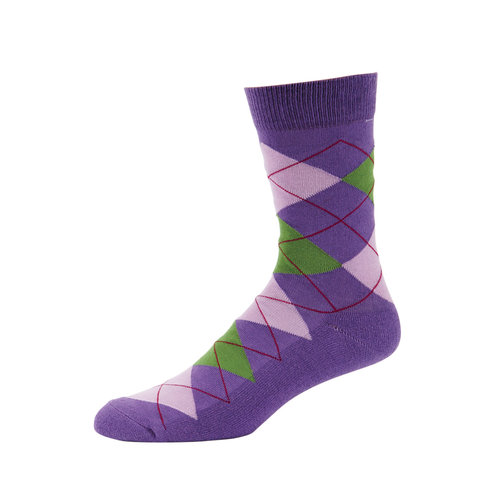 TuffRider Cruiser Argyle Sock
