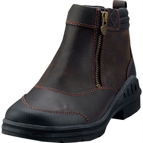 Ariat® Barnyard Side Zip Paddock Boot | Dover Saddlery