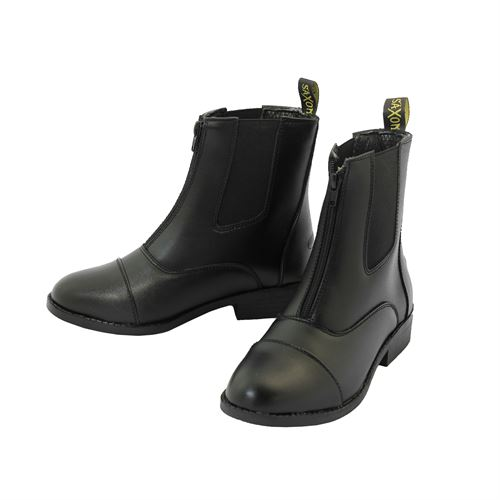Ladies Saxon Equi-Leather Zip Paddock Boot