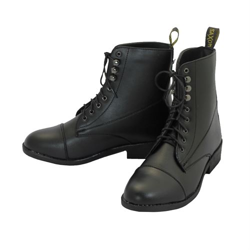 Ladies Saxon Equi-Leather? Lace Paddock Boot