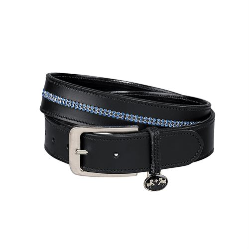 EQN COUTR DBL ROW BLING BELT