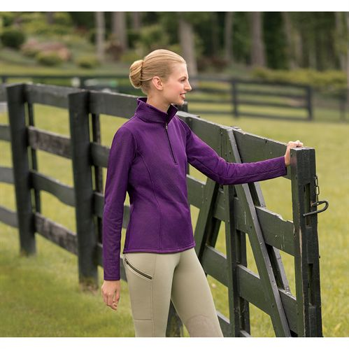 KERRIT CIRCUIT FLEECE HALF ZIP