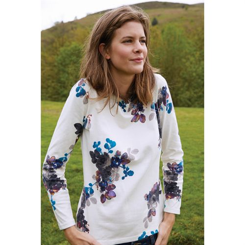 JOULES HARBOUR PRINT JERSEY