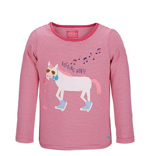 JOULES JR AVA JERSEY TOP