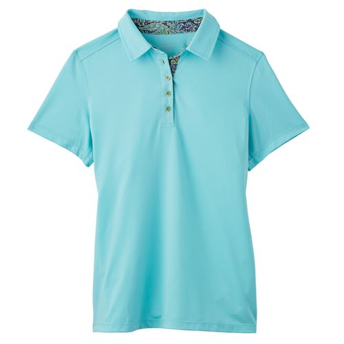 COOLBLAST GIRLS LIBERTY POLO