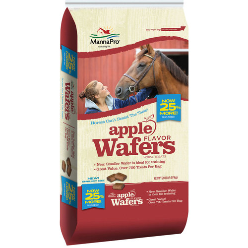 MANNA PRO APPLE WAFERS 20LB