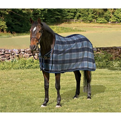 PLAID WOOL DRESS SHEET