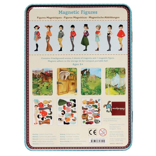 MAGNETIC AT STABLE FIGURES TIN