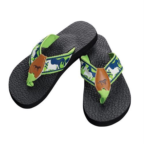 Shadow Horses Lime/Navy