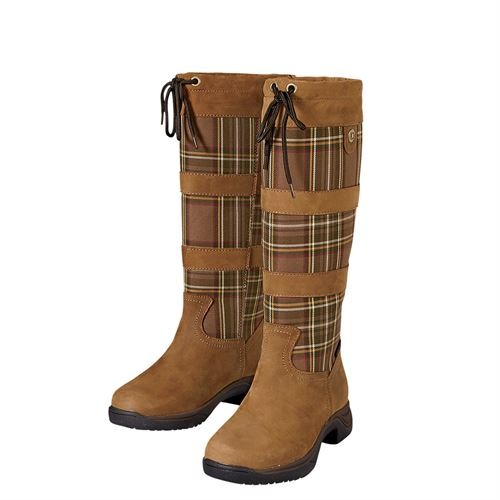 DUBLIN RIVER PLAID TALL BOOT