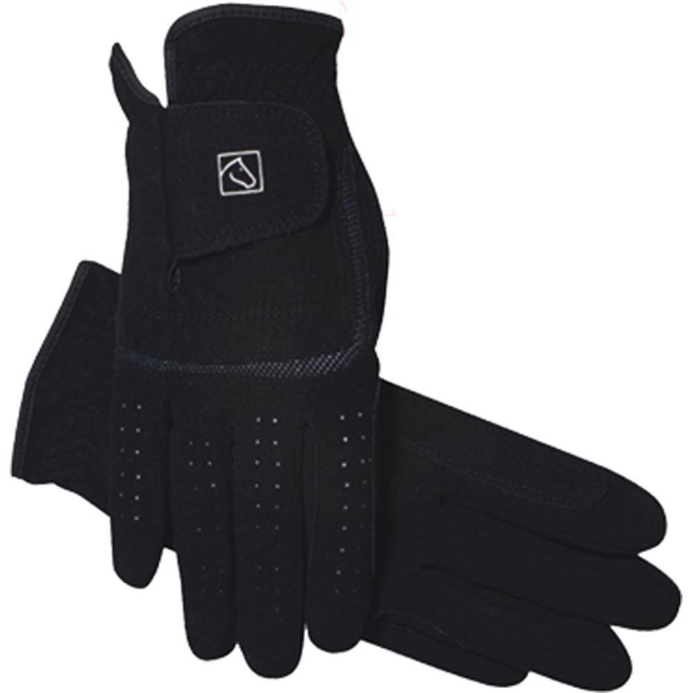 Black riding gloves - Ssg Grand Prix Riding Glove