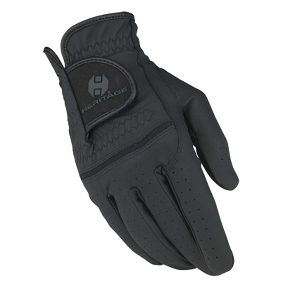 Ladies leather horse riding gloves - Heritage Premier Show Glove