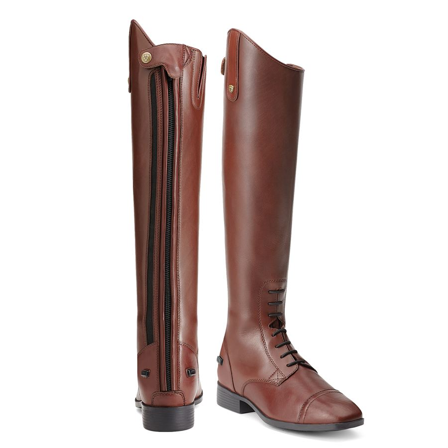 Ariat® Challenge Contour Square Toe Zip Field Boot | Dover Saddlery
